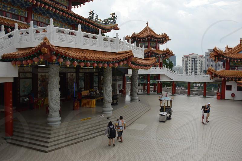 Thean Hou Temple in Kuala Lumpur photo