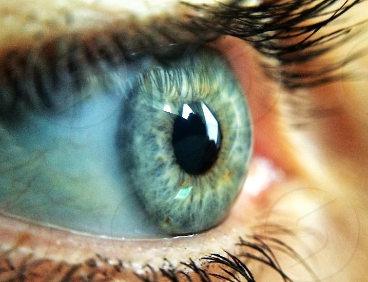 person eye photo