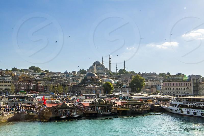 Suleymaniye Mosque Istanbul Tureky photo