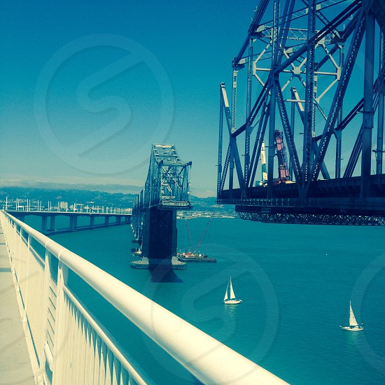 Old Bay Bridge.  photo