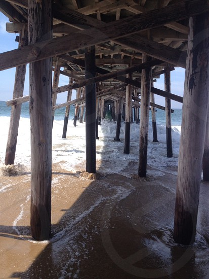 Newport Beach pier  photo