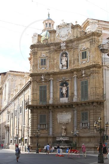 Quattro Canti - Palermo - Sicily - Italy photo