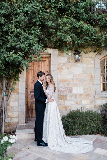 Creative styled shoot at a winery photo