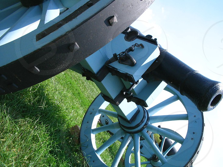 Cannon at Fort McHenry in Baltimore Maryland photo