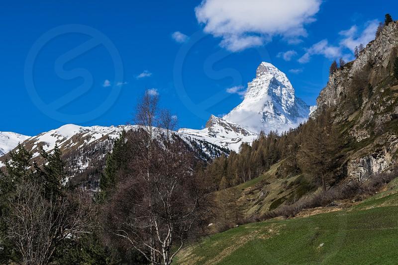 Klein Matterhorn at Zermatt Switzerland photo