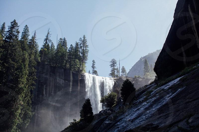 Vernal Falls Yosemite photo