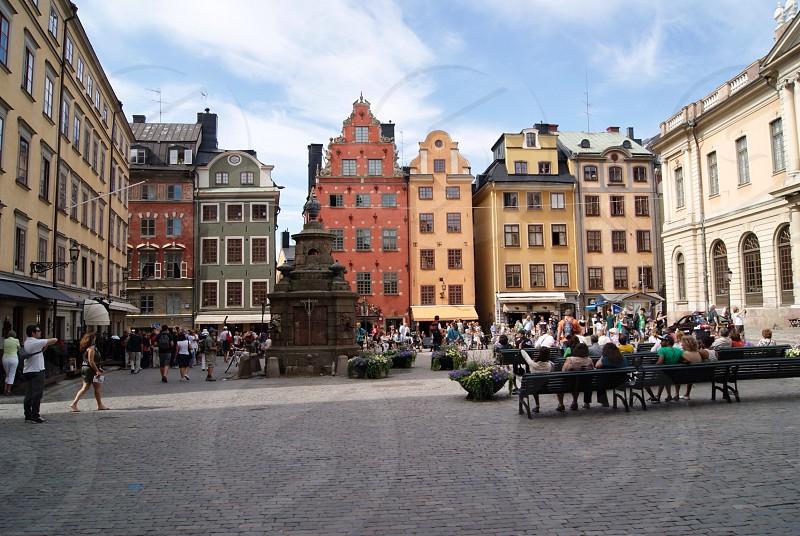 Streets of Copenhagen photo