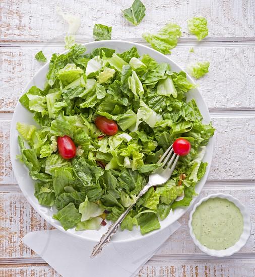 Eating Healthy - Garden Salad photo