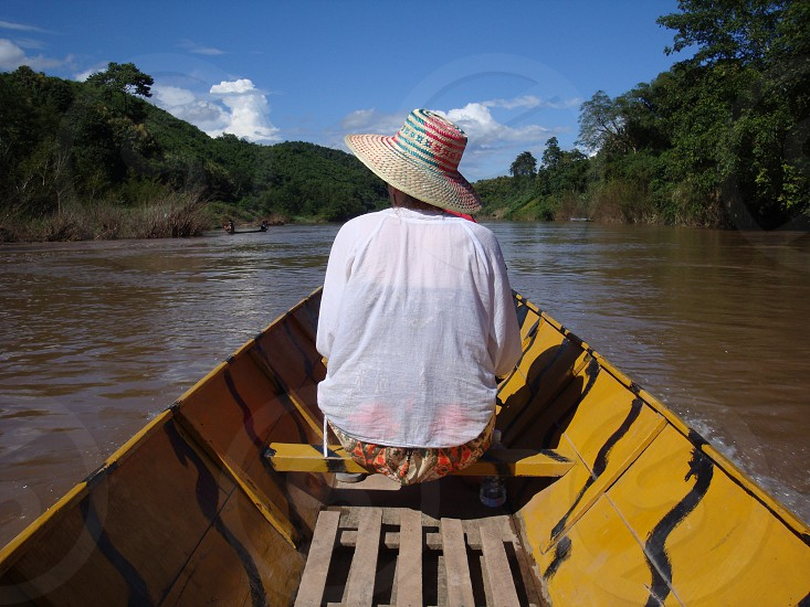 River Cruising in Luang Prabang photo