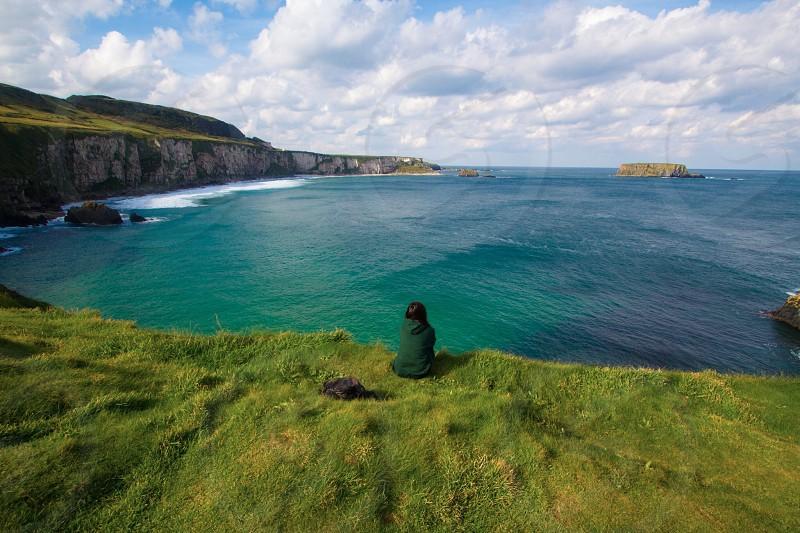 Breeze waterscape landscape backpack trip nature Ireland love seascape photo