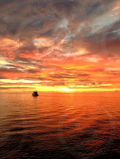 palau's sunset photo