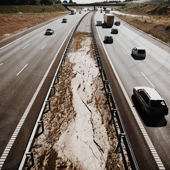 Highway in Denmark photo