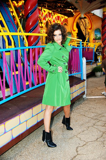 Filled with Color! Taking on the fun house in style photo