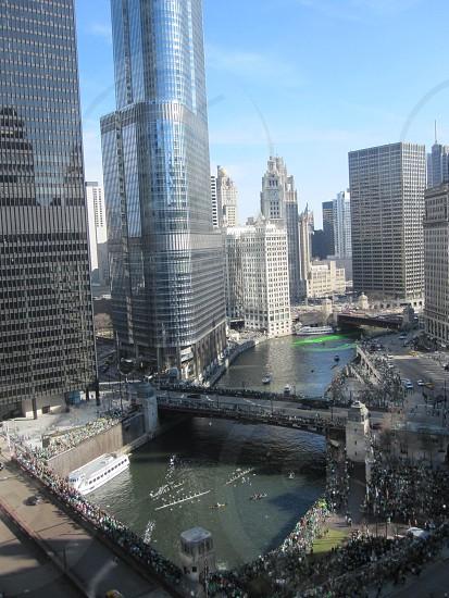 Chicago pre-green die photo
