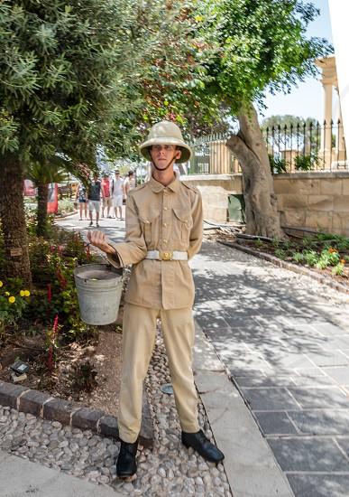 Environmental Portrait - Valletta Malta photo