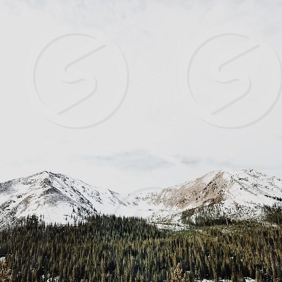 photo of white mountain photo