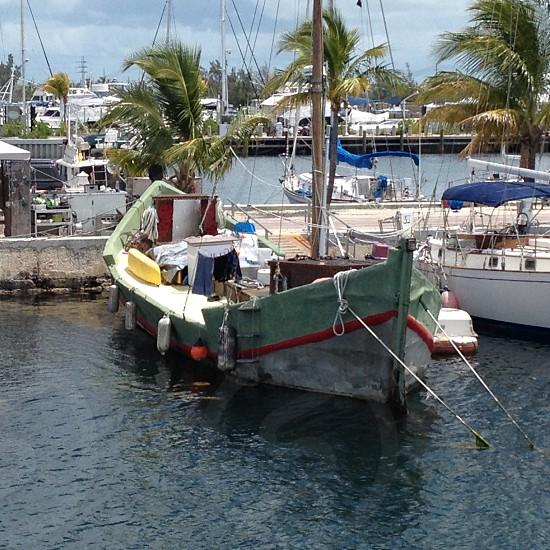 Old Boat in the keys photo
