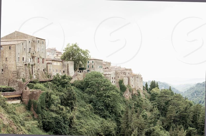 City of Pitigliano in Tuscany Italy photo