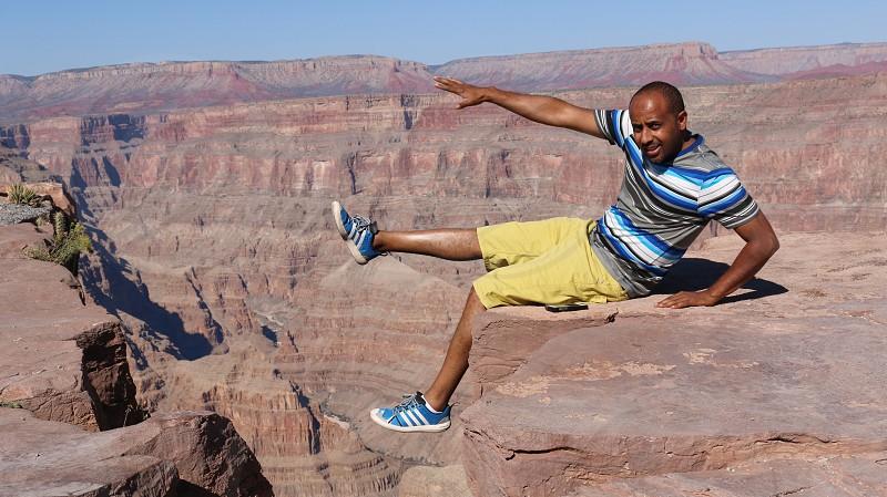 Me at Grand Canyon photo