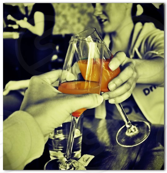 Cheers. photo