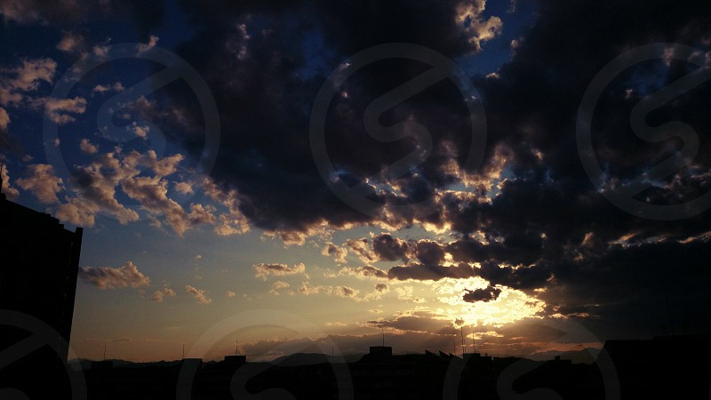 黒い空(Black sky) photo
