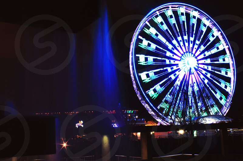 Seattle's great wheel photo