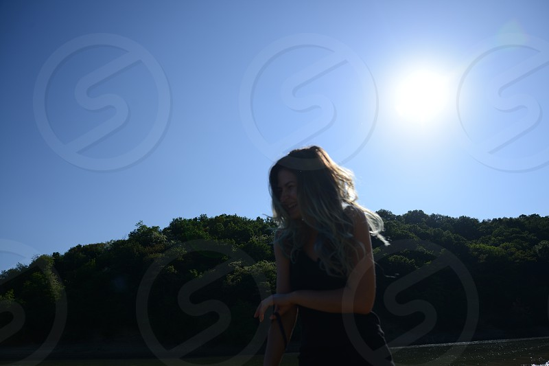 happy in the sunlight photo