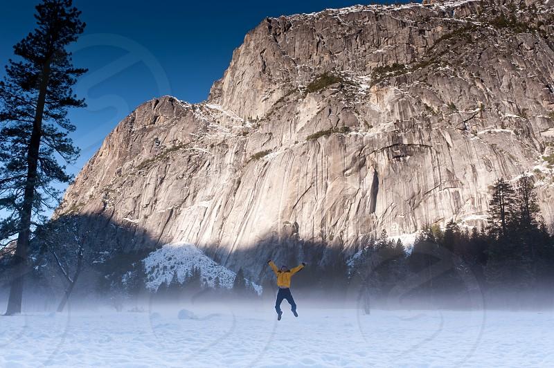 Winter fun in Yosemite photo