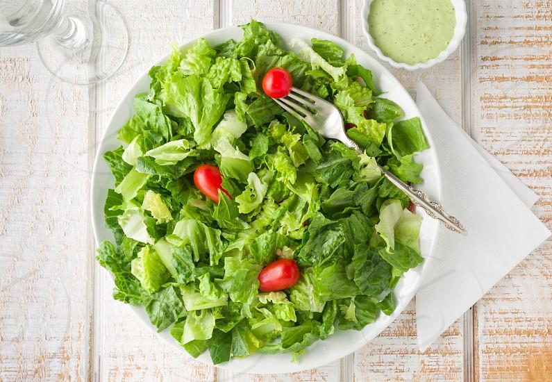 Simple Garden Salad photo
