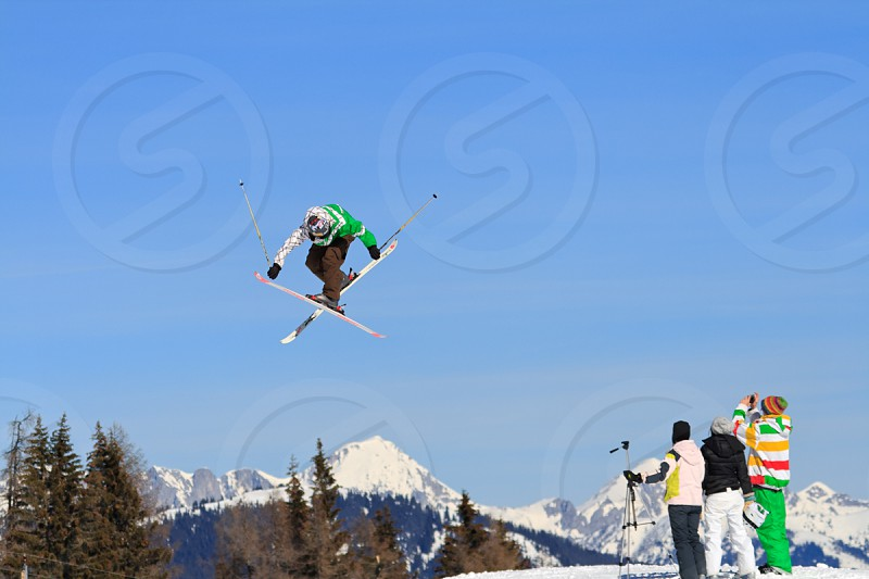 Ski Trick Photographer photography Austria photo