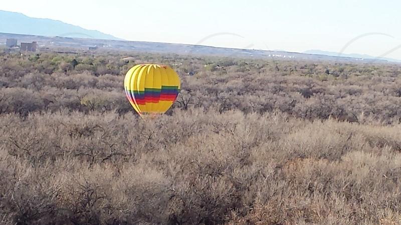 Hot Air balloon Albuquerque NM photo