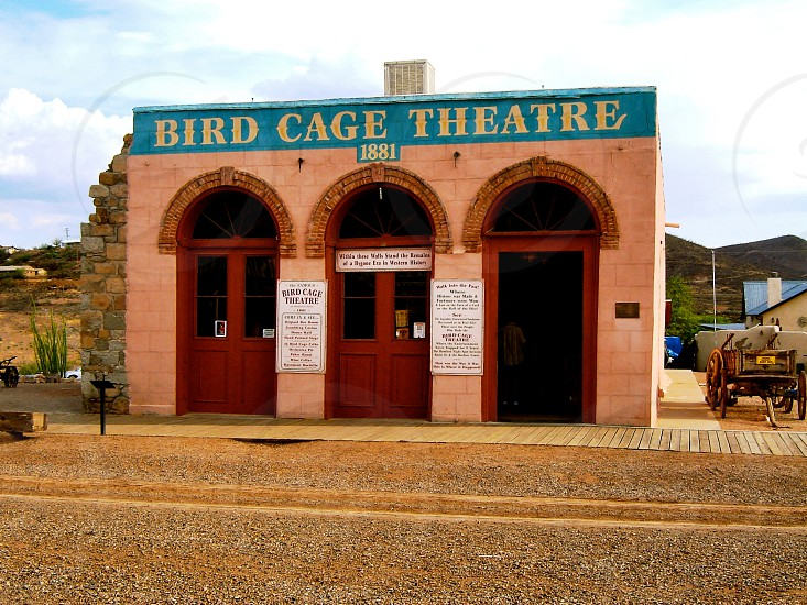 Birdcage Theatre - Tombstone Arizona - USA photo