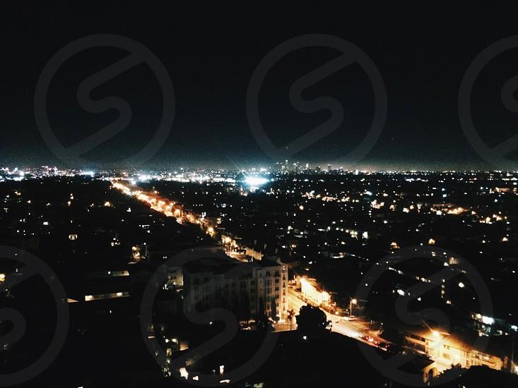 city during night photo
