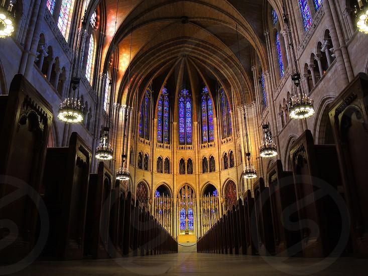 domed church interior photo