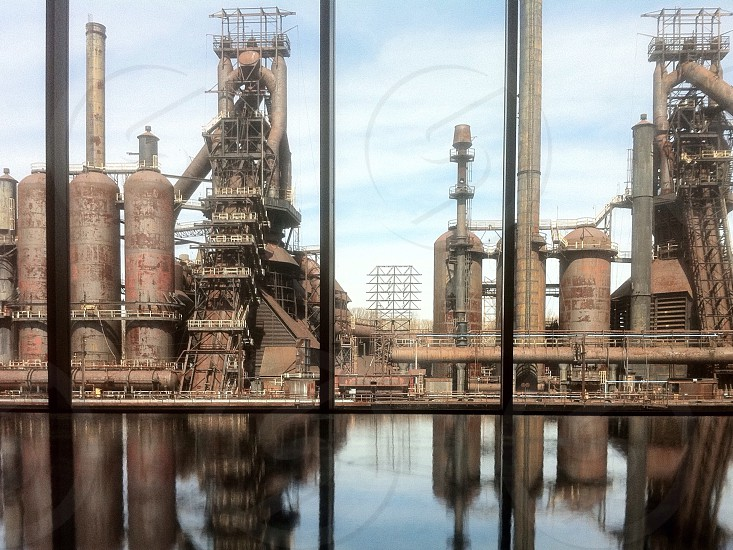 view of oil plant photo
