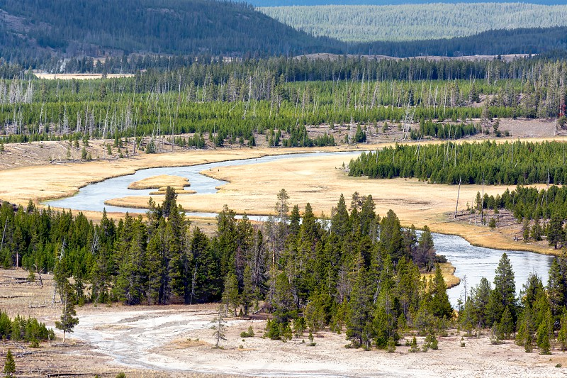 The Meandering Firehole River photo