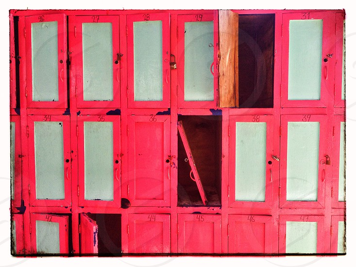 "Digital Photograph ""Beach Lockers"" Chad R. Brazill photo"