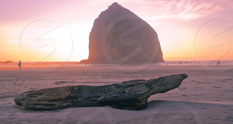 Sunrise canon beach photo
