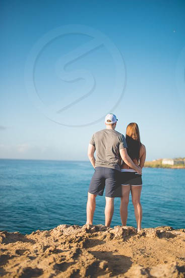 Travel Hawaii Kauai ocean honeymoon love traveling photo