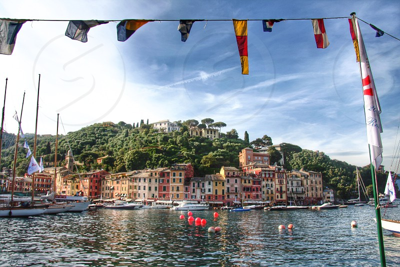 Portofino Italy Ligurian sea Mediterranean photo
