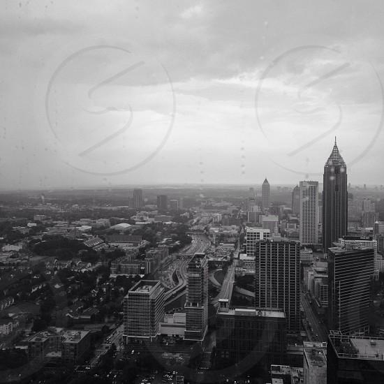 Atlanta 40 stories up. photo
