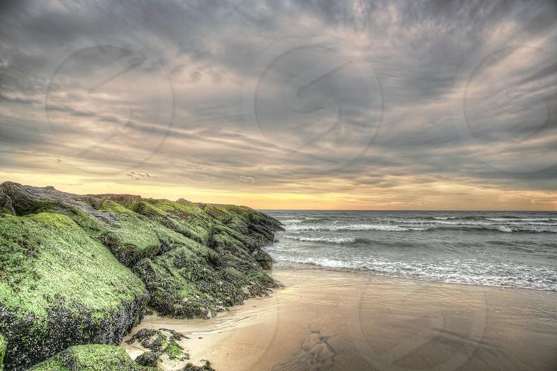 Sunset over Atlantic Beach NY photo