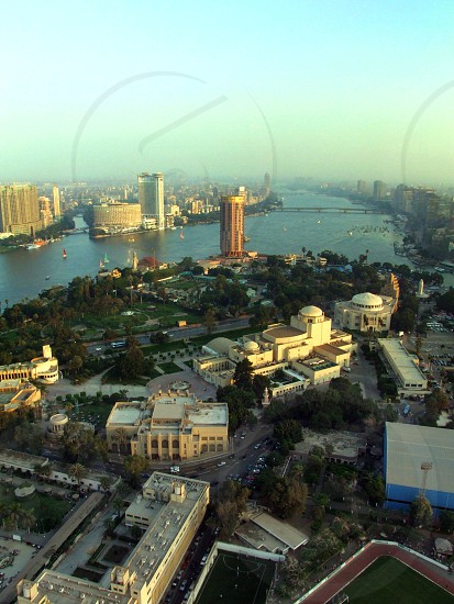 From Cairo Tower observation deck photo