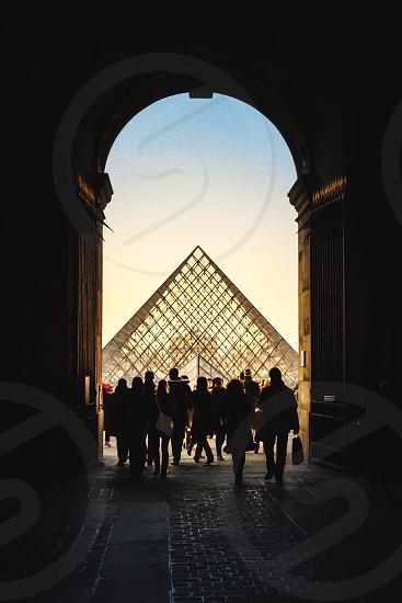 Musee de Louvre Paris France photo