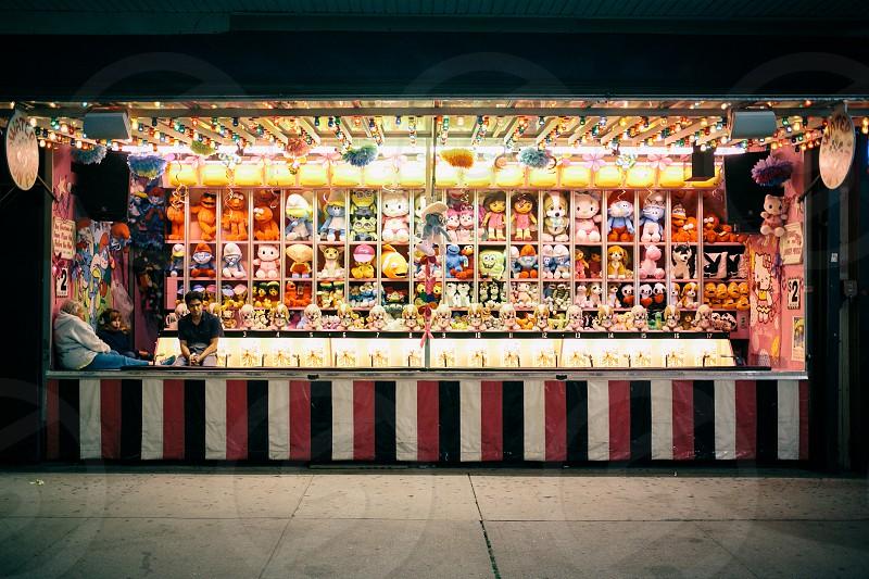 carnival game kiosk photo