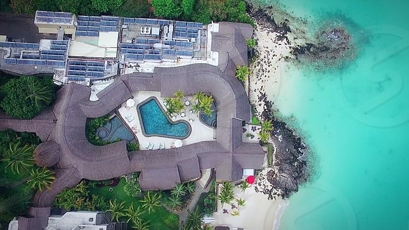 La cuvette Beach Mauritius photo