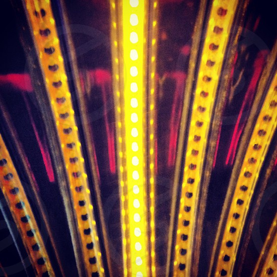 yellow lights photo