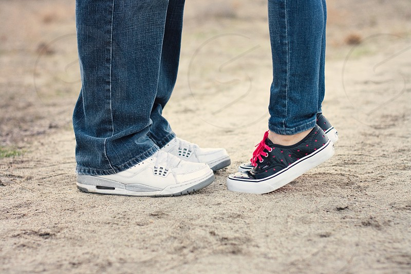 Couple feet photo