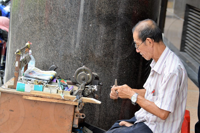street entrepreneur .. photo