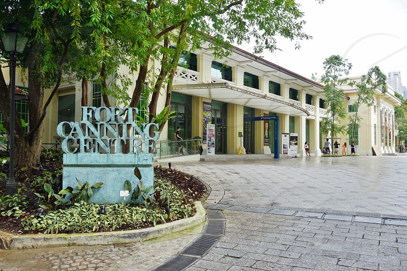 Fort Canning in Singapore photo